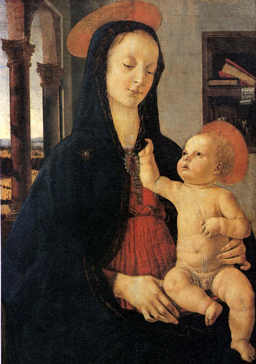 Domenico ghirlandaio madonna.